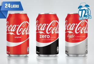 Coca-Cola 24 Latas! Elige tu Favorita!