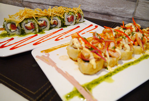 40% 60 pcs. Sushi Nikkei Fusión PREMIUM, La Reina