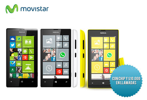 37% Nokia Lumia 520 Negro Movistar