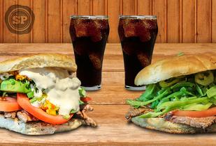 40% Sandwich para 2 en San Pancracio. Providencia