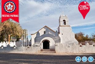 Fiestas Patrias San Pedro de Atacama vía SKY