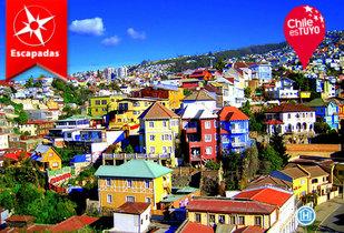 Escapada a Hotel Montealegre, Valparaíso