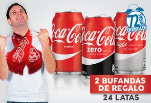 Pack Copa America con Coca-Cola