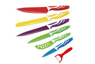 Set 6 Cuchillos + Pelador