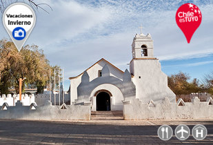 Vacaciones de Invierno en San Pedro de Atacama vía LAN