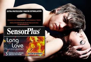 5 Cajas de Preservativos Sensor Plus, Modelos a elección!