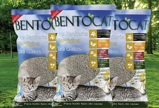 10kg Arena Bentonita natural para gatos