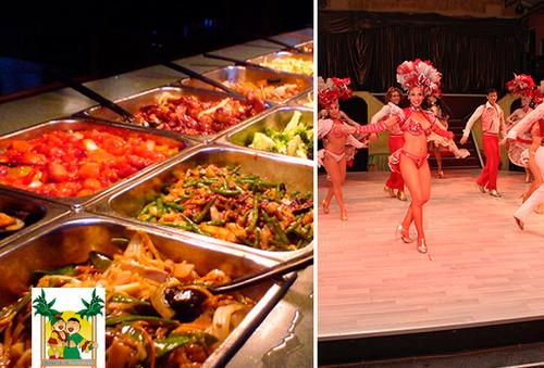 Buffet de comida Cubana + Show En havana Salsa.
