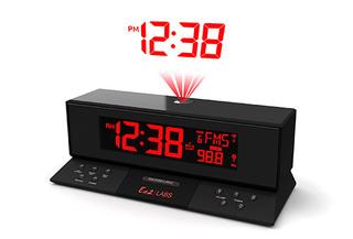 Radio Reloj FM con Proyección