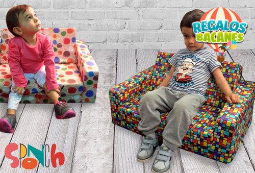 Sofá Cama bebe y niños con estampado Personalizado