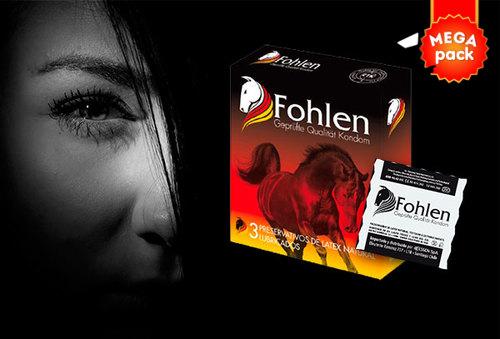 Paga desde $14.990 por 72 preservativos Fohlen