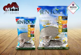 11kg Arena Bentonita natural para gatos