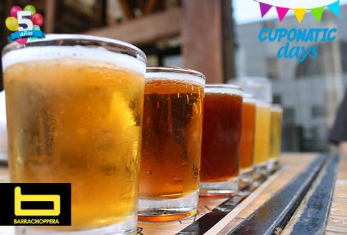 BARRACHOPPERA 50Lt de cerveza en donde quieras + 100 vasos!