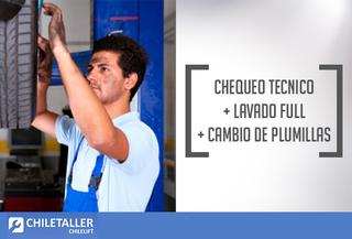 Chequeo Técnico+Lavado Full+Cambio de plumillas Est. Central