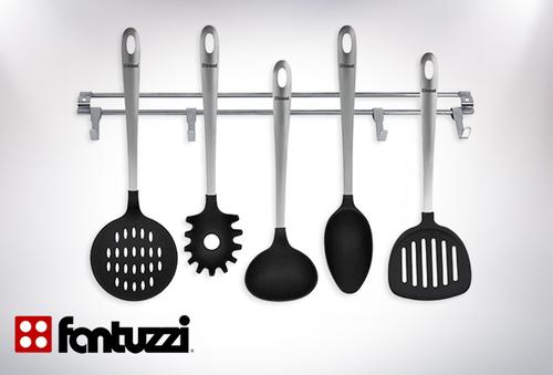 Paga por set utensilios lazio barra de fantuzzi for Utensilios de cocina santiago chile