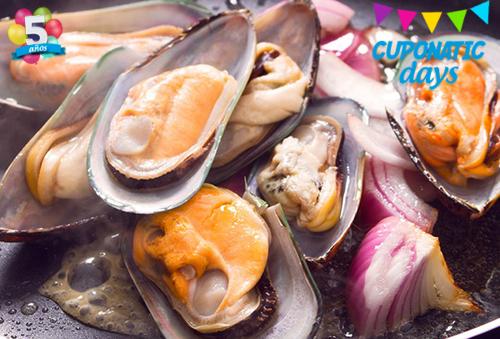 2 kilos de surtido de mariscos