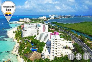 Temporada Baja, Todo incluido en Cancún vía LAN