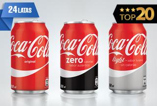 40% Coca-Cola 24 Latas!