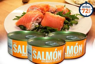 Pack de 3 Salmones en Conserva