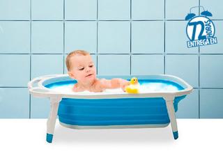 55% Increible Bañera Plegable Happy Shower