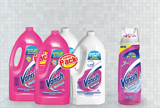 Pack 2 Vanish Liquido + 2 Vanish Líquido White + 1 Powergel
