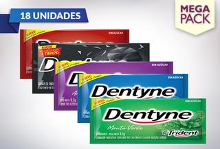 Pack de 18 Unidades de Dentyne sabores a elección