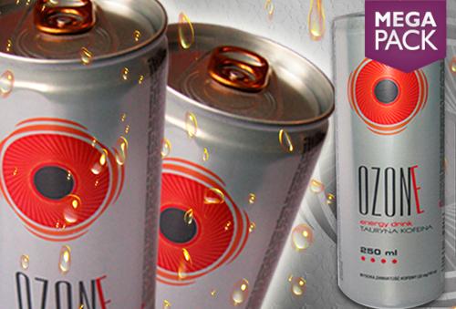 Caja de 24 latas de bebida energética OZONE