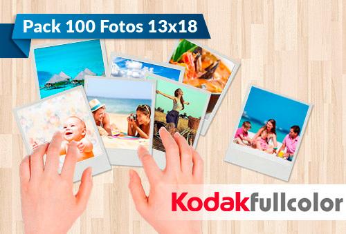 100 Fotos Kodak Express 13x18