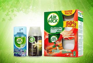 39% Pack 1 Air Wick Freshmatic + 2 Recargas