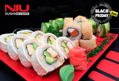53% Niu Sushi, metro Manuel Montt