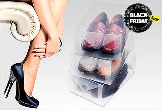 52% Set de 10 cajas organizadoras de zapatos