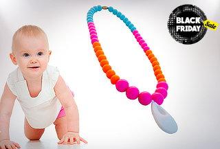 48% Collar silicona de apego para bebes