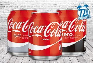 40% Pack de 24 Latas Coca-Cola 250cc!