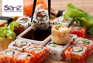 Menú para 2 en Sushi Senz, Mall Plaza Egaña