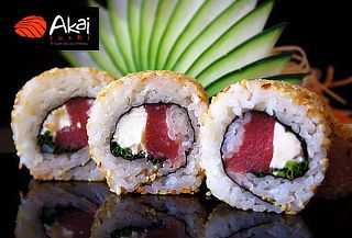 59% 3 rolls AKAI sushi, Carmencita Las Condes