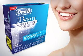 67% Cintas blanqueadoras 3D White Whitestrips Oral B