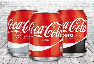 40% Pack de 24 Latas Coca-Cola a elección de 250cc!
