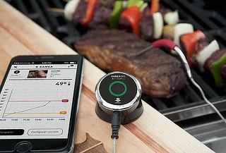 Termómetro Bluetooth para Alimentos, K-Temp mini de KANKA