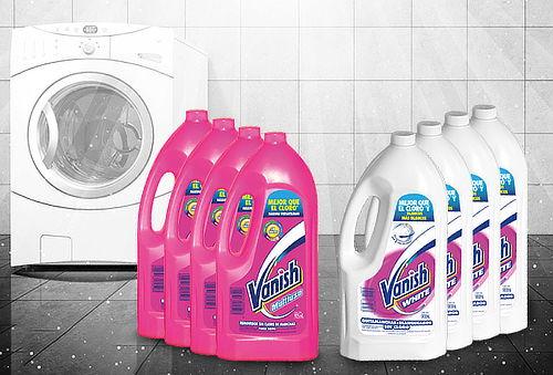 Pack 4 Vanish Líquido 925 ml Rosa o White