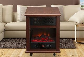 Chimenea Eléctrica Infrared Luxury Wood, Sumoheat!