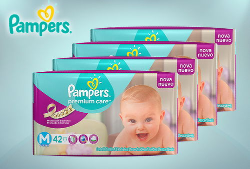 Pañales Pampers® Premium Care