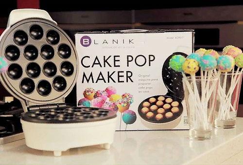 36% Bolitas de Bizcocho con CakePop Maker de Blanik