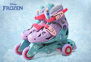 Patines Frozen con 3 Ruedas