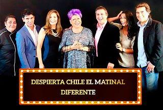 """40% """"Despierta Chile El matinal Diferente"""" de Paty Maldonado"""