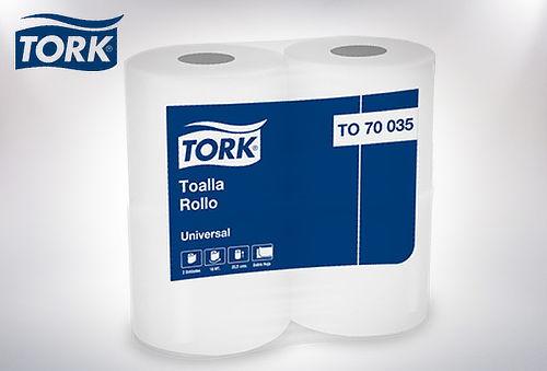 Pack 24 Rollos Toalla de Papel  Premium Tork