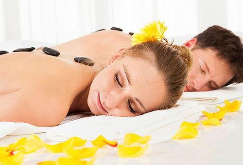 Masaje de Relajación+Piedras Calientes y mas para 2 personas