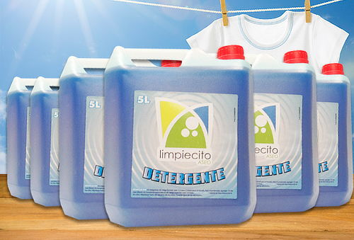 60% 20 Lt. Detergente Líquido Ropa Color + 10 Lt Ropa Blanca