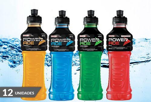 Pack 12 Botellas de Powerade de 600 cc