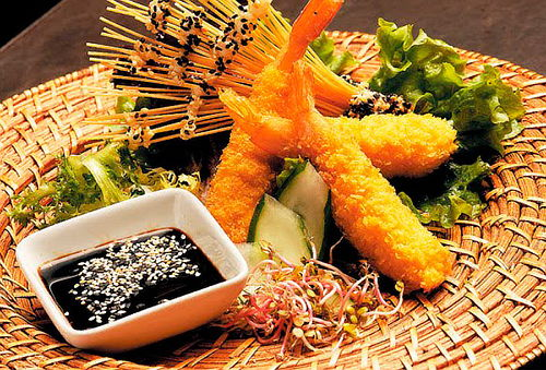 Camaron tempura prefritos 12 cm
