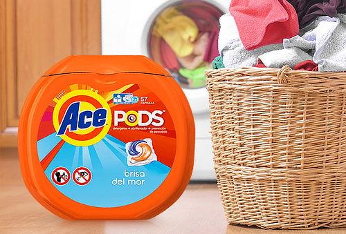 Detergente Ace Pods 57 Cápsulas